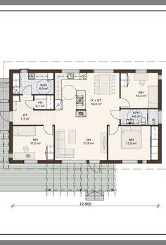 Granny Flat, Bungalows, Sims, Buildings, Floor Plans, Houses, Flooring, Ideas, Large Sheds