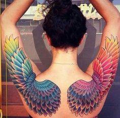 Wings in color