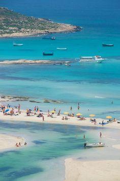 #jemevade #ledeclicanticlope / Crete - Gramvousa - Balos Bay. Via topinspired.com