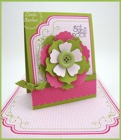 Stampin' Up! SU by Linda Aarhus, Polka Dots and Paper