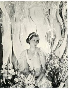Russian Princess Natalie Paley photographed by Cecil Beaton.