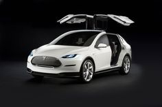 The Model X concept has barely been changed in the transtion to production car - the car launched today look almost identical to this concept