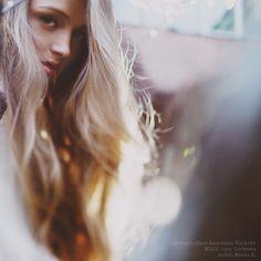 Anastasia Volkova (love the negative space)