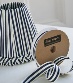 Make a classic ribbon lampshade with your favourite ribbon