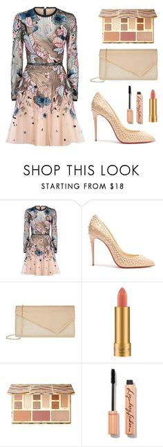 """""""V.G.K. #105"""" by julietxmontague on Polyvore featuring Mode, Elie Saab, Christian Louboutin, Accessorize, MAC Cosmetics, Sephora Collection und modern"""