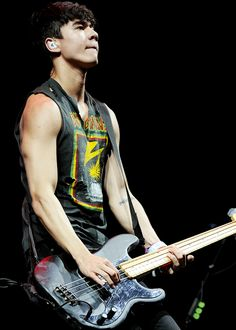 Calum Hood | 5SOS | Key 103 Summer Live in Manchester | July 17, 2014