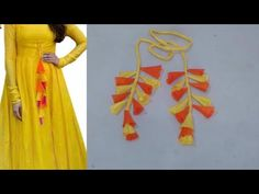 In this video i will teach you how to make latkan for kurti/ lehenga cutting and stitching step by step in hindi BUY ONLINE FROM: All Tailoring equipment htt. Blouse Back Neck Designs, Sari Blouse Designs, Fancy Blouse Designs, Designer Blouse Patterns, Designs For Dresses, Kurta Patterns, Dress Patterns, Sewing Patterns, Churidar Neck Designs
