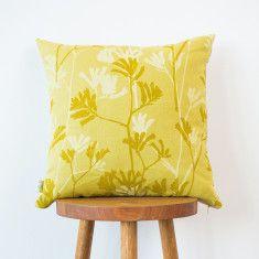 Kangaroo Paw & Shells cushion cover
