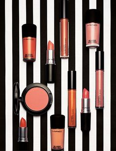 MAC All About Orange Collection Mac New Collection, Lipstick Collection, Makeup Collection, Summer