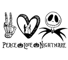 Jack And Sally, Business Inspiration, Peace And Love, Halloween Costumes, Silhouette, Disney, Projects, Crafts, Design
