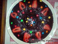 Κέικ κατσαρόλας #sintagespareas Brownie Cupcakes, Cupcake Cakes, Sweet Recipes, Acai Bowl, Pudding, Sweets, Cooking, Breakfast, Desserts