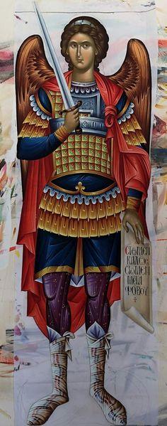 Religious Icons, Religious Art, Married With Children, Orthodox Icons, St Michael, Christian Art, Roman Catholic, Cherub, Art History