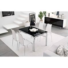 Calligaris Baron Metal Extended Dining Table