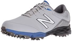 Golf Fashion - New Balance Men s nbg2004 Golf Shoe%2C Grey Blue%2C a8f1077d3c5