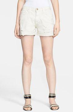 #Current/Elliott          #Bottoms                  #Current/Elliott #'The #Boyfriend' #Destroyed #Rolled #Denim #Shorts          Current/Elliott 'The Boyfriend' Destroyed Rolled Denim Shorts                                           http://www.seapai.com/product.aspx?PID=5187253