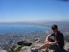 View of Cape Town from Table Mountain Table Mountain, Canvas Ideas, Cape Town, Grand Canyon, Nature, Travel, Painting, Naturaleza, Viajes