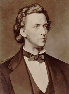 Frederic Chopin - Portrait by P Schick, 1873