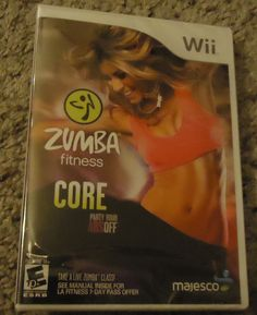 NEW Zumba Core Nintendo Wii Video Game Only *Sealed*