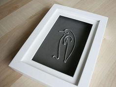 Tutorial DIY: Zrób obraz z drutu na wzór Picasso przez DaWanda.com