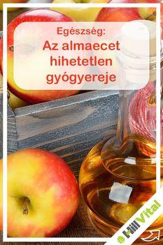 Mi az az almaecet? Az almaecet hatékony baktériumölő szer, amely számos létfontosságú ásványi anyagot és nyomelemeket tartalmaz, mint a kálium, kalcium, magnézium, foszfor, klór, nátrium, kén, réz, vas, szilícium és fluor, amelyek létfontosságúak a test egészséges működéséhez. A természetes almaecet készítésének folyamata friss, organikusan termesztett almák összezúzásával kezdődik, amelyet aztán fahordóban való érlelés követ. Diy Beauty, Keto, Exercise, Apple, Fruit, Health, Fitness, Food, Ejercicio
