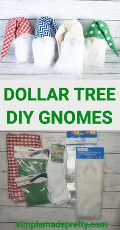 Gnomes Diy Gnomes How To Make Gnomes Diy How To ~ wie man gnomes diy macht wie man gnomes diy macht ~ ~ gnomes diy gnomes comment faire gnomes diy comment faire ~ gnomos diy gnomos cómo hacer gnomos diy cómo Dollar Tree Christmas, Dollar Tree Crafts, Christmas Gnome, Father Christmas, Outdoor Christmas, Gnome Ornaments, Diy Christmas Ornaments, Diy Christmas Gifts Videos, Diy Christmas Projects