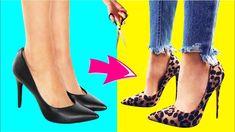 As 10 melhores imagens em Transformação de sapatos