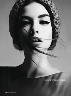 InStyle - Spring's Top 10 (with model Eszter Boldov).  March 2012.  Photography by Damon Baker.