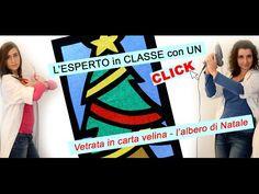 Vetrata di Carta Velina: speciale Natale!!! - YouTube