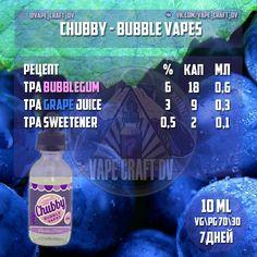 Chubby - Bubble Purp (сlone - 10 ml).