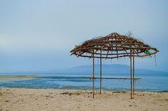 Beach side...