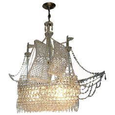 Z gallerie crystal ship chandelier 899 for a bit of whimsy only z gallerie crystal ship chandelier 899 for a bit of whimsy only a ship chandelier could bring chandy love pinterest chandeliers crystals and mozeypictures Images