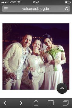 Noivos Camila e Bruno