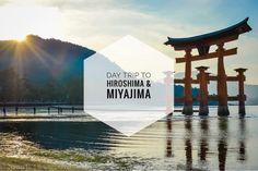 How to Plan a day trip to Hiroshima & Miyajima Island | www.travelwithnanob.com