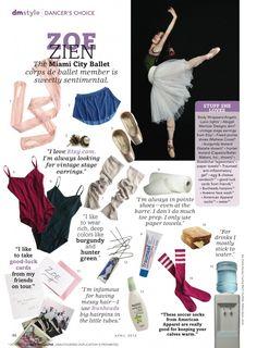 Zoe Zien of Miami City Ballet