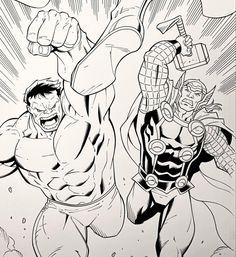Avengers Assemble. Ron Lim, Walden Wong. Sub me at www.YouTube.com/WaldenWongArt . #avengers #thor #mcu #marvel #comics #marvelcomics #marvellegends #doodle #sketch #draw #ink #inks #inking #art #artist #dccomics #cosplay #artoftheday #artaccount #artwork #hulk #anime #artoftheday #artistsoninstagram #drawdraw #penandink #superheroes #manga #draweveryday #drawingsketch #arte