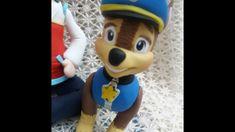 DIY- Fran aulas - cão policial - patrulha canina - biscuit