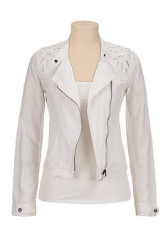 maurices offers a wide selection of women's clothing in sizes including jeans, tops, and dresses. Inspired by the girl in everyone, in every size. Affordable Plus Size Clothing, Blazer Jackets For Women, Casual Outfits, Fashion Outfits, Got The Look, Lightweight Jacket, My Wardrobe, Plus Size Outfits, Leather Jacket