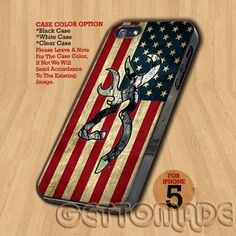 Camo Browning American Flag - Print On Hard Case iPhone 5 Case | GetToMade - Accessories on ArtFire