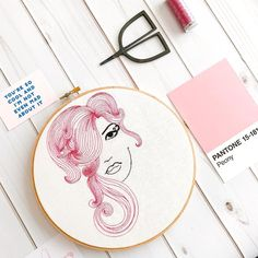 Pink Hair don't care.  -- Hair Babe now in the shop -- Clothandtwigshop.etsy.com #clothandtwig #pinkhairdontcare #ihavethisthingwithpink