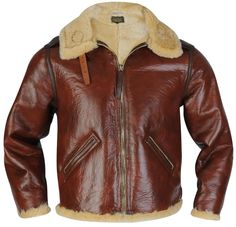 9fb9713bf34 This is one of the rarest flight jackets of My Favourite. Love this Jacket.  Brown Leather Jacket MenWinter ...