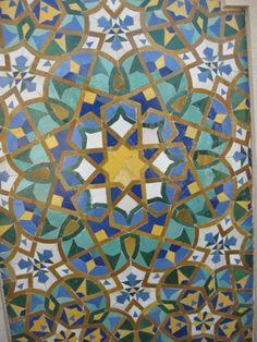 tiles, Morocco