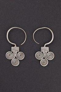earrings Guizhou, China first half 1900