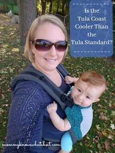 Is the Tula Coast Baby Carrier Cooler than the Tula Standard Baby Carrier? Tula Coast Review