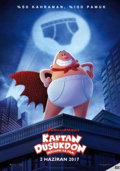 Kaptan Düşükdon: Destansı İlk Film (2017) – Captain Underpants: The First Epic Movie