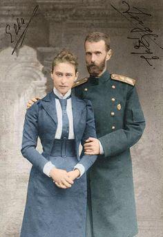 Grand Duke Sergei and Grand Duchess Elizabeth
