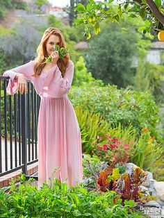 She plays a political gladiator on Scandal, but there's nothing scandalous about the way Darby Stanchfield spends her off-set hours. You'll find her gardening around her Los Angeles home and loving every minute of it.