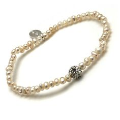 Hultquist Classic Silver Plated Pearl and Swarovski Crystal Bracelet|lizzielane.co.uk. http://www.lizzielane.co.uk/shop/hultquist-classic-pearl-and-swarovski-crystal-bracelet £19.95