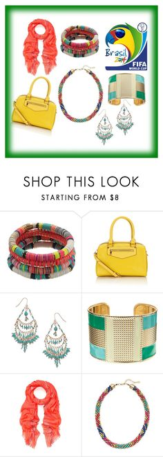 """World Cup Accessories"" by accessorizeshop ❤ liked on Polyvore featuring Accessorize"