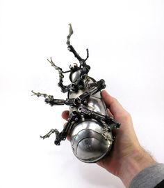 Exceptional Steampunk Sculptures by Igor Verniy