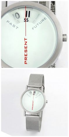 Past-Present-Future Watch by Daniel Will-Harris for Yanko Design
